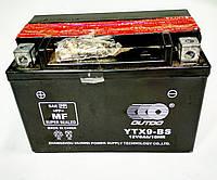Аккумулятор 12V 9Аh YTX9-BS 150/85/105 мм (кислотный)
