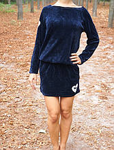 Стильная туника-платье LOVE PINK