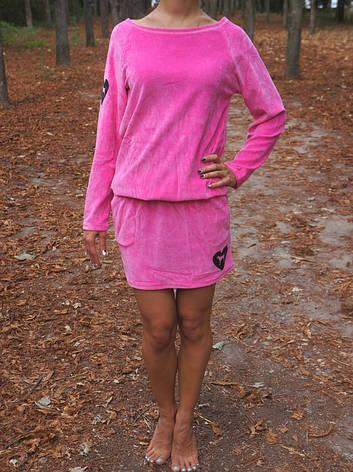 Стильная туника-платье LOVE PINK, фото 2