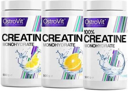 Креатин OstroVit Creatine 500 г вкус, фото 2