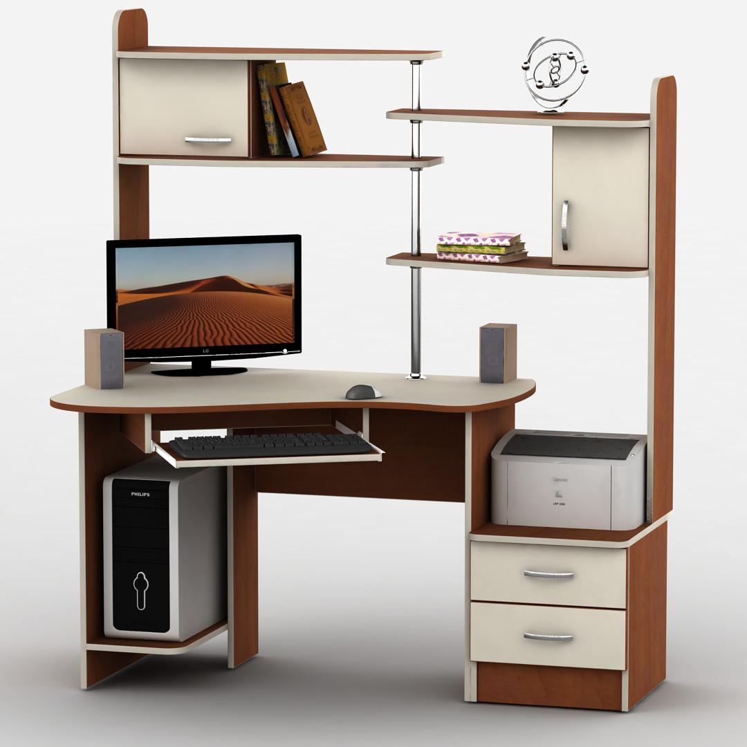 Компьютерный стол угловой Тиса-9 Ливерпуль