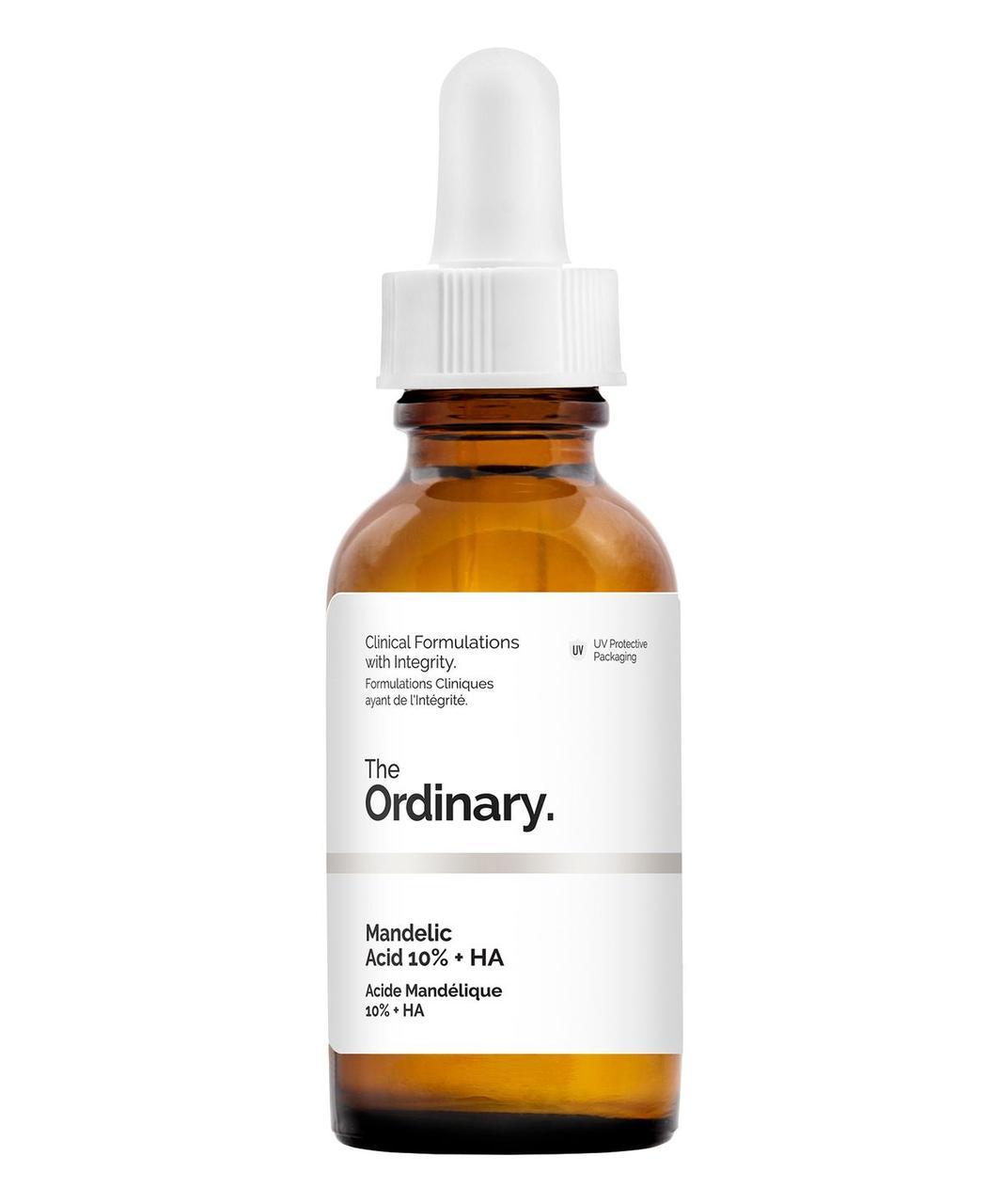 Пилинг с миндальной кислотой The Ordinary Mandelic Acid 10% + HA