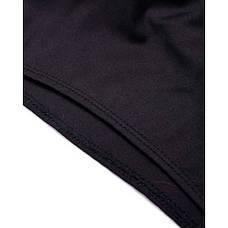 Боди чёрное с гипюровыми рукавами-171-02, фото 3