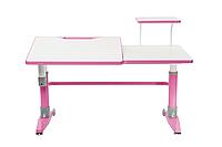 Парта-трансформер для школьника FunDesk Ballare Pink с полкой
