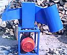 """Измельчитель веток """"Премиум"""" под электродвигатель 50 мм (без конуса, без ремня, односторонняя заточка ножей), фото 5"""