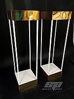 Стойки лофт, консоли, колоны, лофт декор, свадебные стойки, тумбы, металлические консоли, фото 1