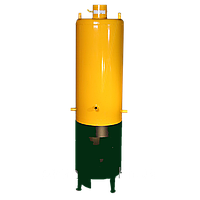 Дровяная колонка 80 литров (нержавейка), фото 1