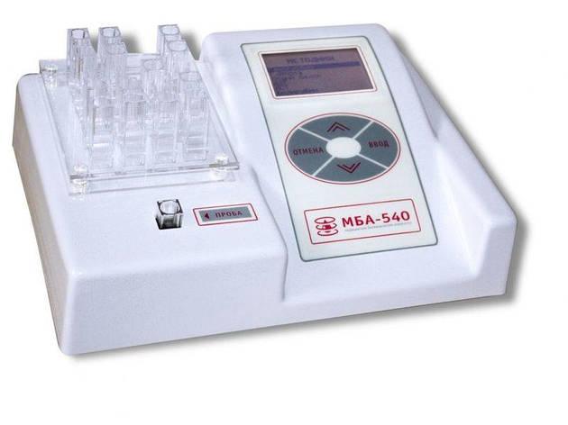 Фотометр МБА-540 (біохімічний аналізатор), фото 2