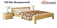 Кровать деревянная из бука Рената фабрика Эстелла, фото 3