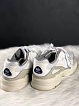 Мужские кроссовки Adidas yung 96 white. Живое фото. (Топ реплика ААА+), фото 2