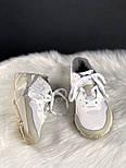 Мужские кроссовки Adidas yung 96 white. Живое фото. (Топ реплика ААА+), фото 3