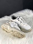 Мужские кроссовки Adidas yung 96 white. Живое фото. (Топ реплика ААА+), фото 5