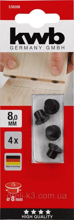 Кернер для мебельных шкантов 8 мм KWB