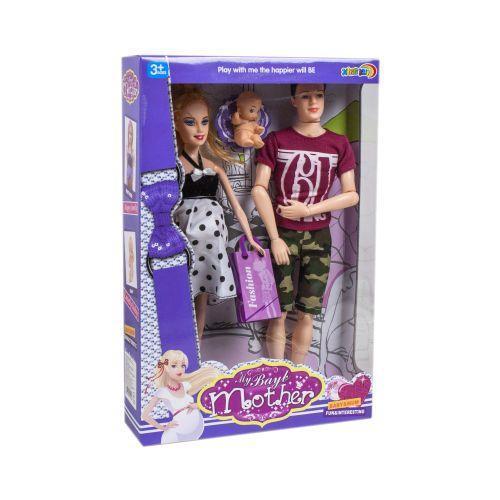 """Набор кукол Барби """"Молодая семья"""""""