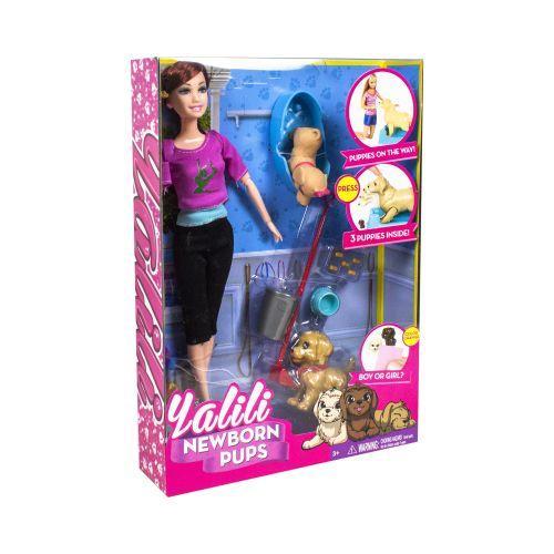 """Кукла Барби с собачками """"Yalili"""""""