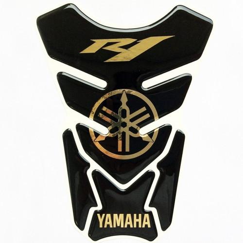 Наклейка на бак NB-4 Yamaha R1 Gold VIP качество