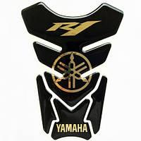Наклейка на бак NB-4 Yamaha R1 Gold VIP качество, фото 1