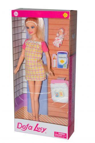 """Кукла Барби беременная """"Defa Lucy"""""""