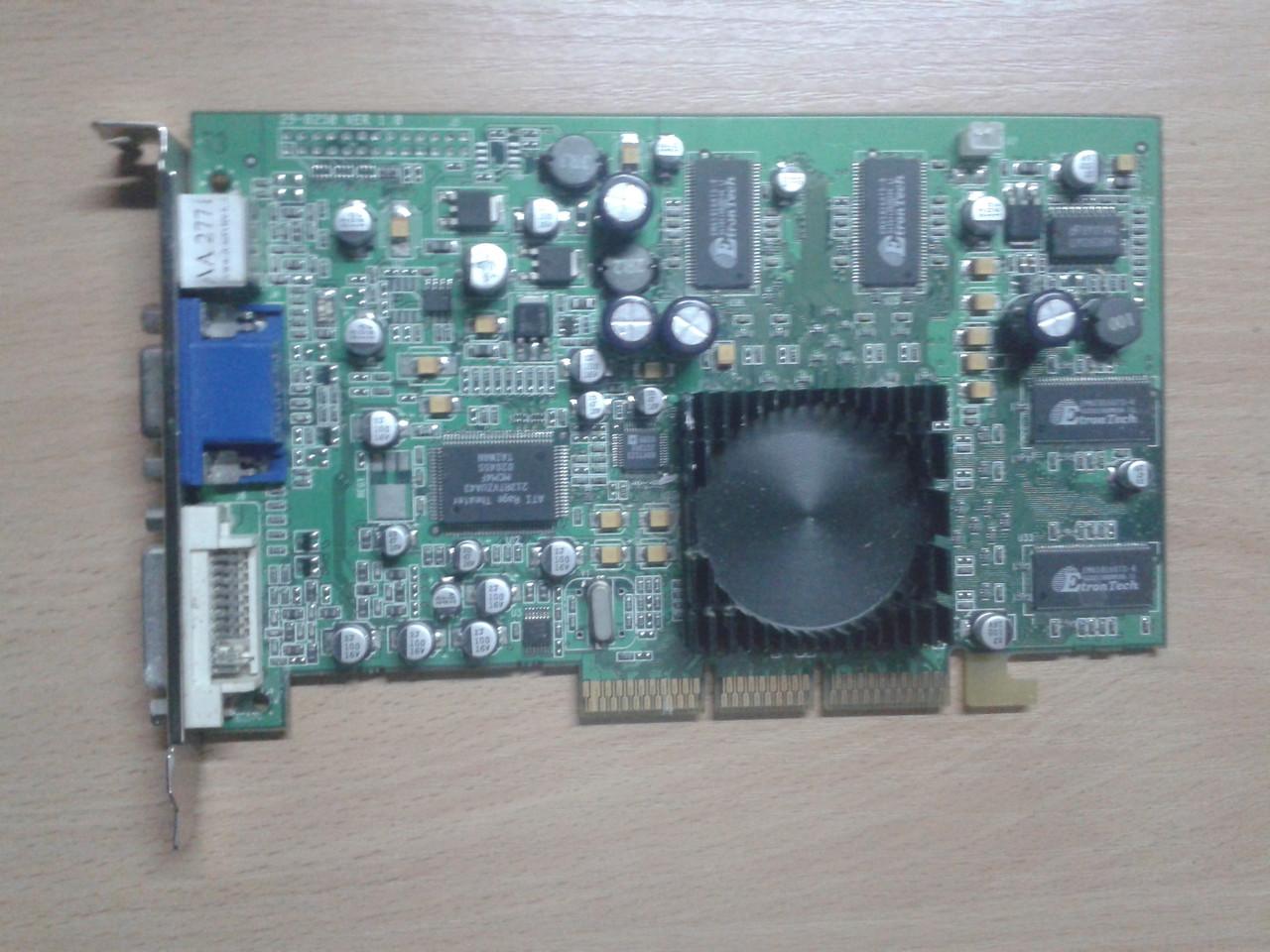 Видеокарта Transcend  64Mb/DDR/64Bit, TS64MVDR8, AGP, бу
