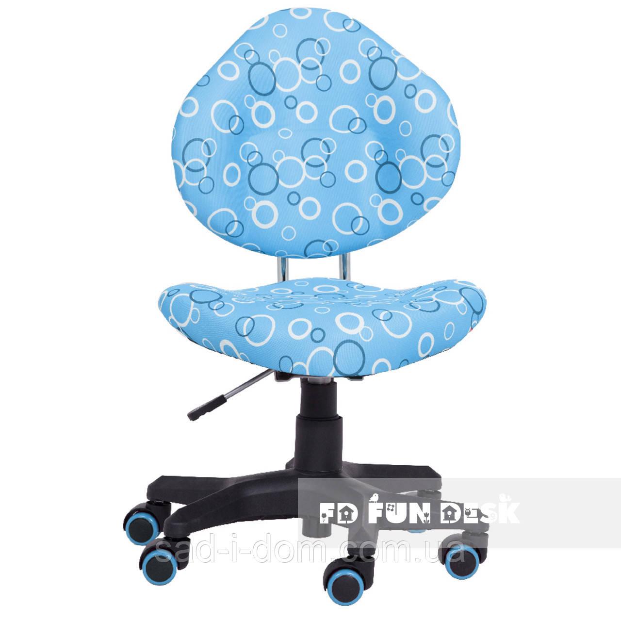 Детское компьютерное кресло FunDesk SST5, голубое