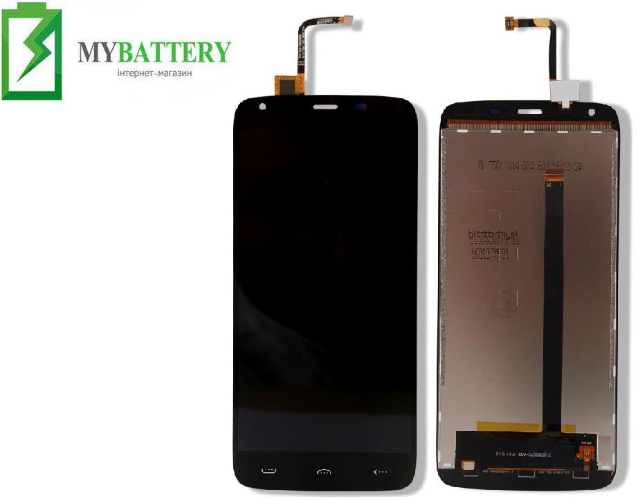 Дисплей (LCD) Doogee (HomTom) HT6/ HT6 Pro с сенсором черный