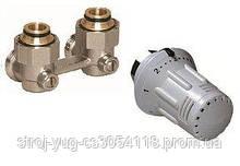 Пакет комплектующих №4 Basic для подключения радиатора KERMI FTV с угловым вентилем