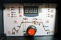 Аргоновый сварочный аппарат Спика TIG 315P AC DC, фото 1
