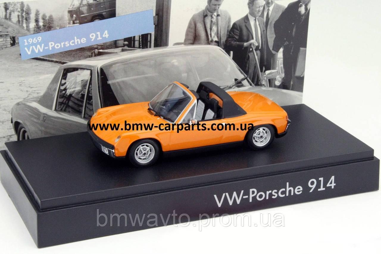 Модель автомобиля Volkswagen-Porsche 914, Scale 1:43