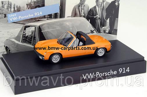 Модель автомобиля Volkswagen-Porsche 914, Scale 1:43, фото 2