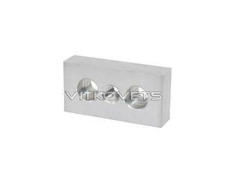 Плита для шарнирных опор и напольных элементов для профиля серии 30х60