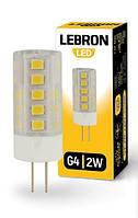 Лампа світлодіодна 3 Вт, G4, 280 Lm, 360*