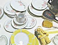 Секонд хенд посуда тарелки чашки фарфор кастрюли Голландия Оптом от 25 кг
