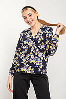 Легкая блуза ALISE с эффектом запАха на резинке, фото 1