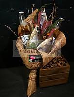 Букет с рыбкой и пивом