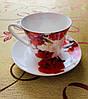 Набір із чашок та блюдець Alpari DS-2002R Pink, фото 4