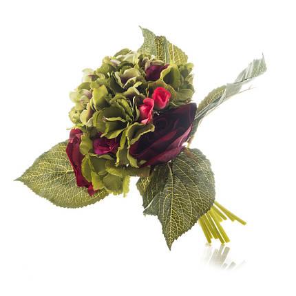 Роза и гортензия 27 см (029FS), фото 2