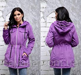 Женская куртка- кардиган с декором в расцветках, р-р 48-52. ДР-20-1-0219