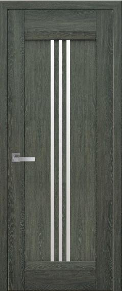Дверь межкомнатная со стеклом сатин RACE