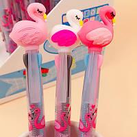 Авторучка 3 цвета Фламинго 8063-FL-0104