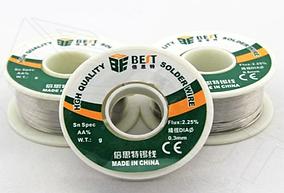 Припой на граммы для пайки Best 0,6 mm SnSpec:AA%  Flux:2.25%