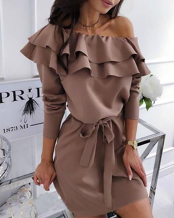 """Платье с пышным воланом """"Лилит"""", фото 2"""