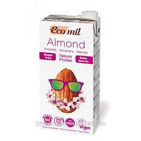 Молоко миндальное с протеином без сахара, ТМ EcoMil