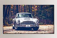 """""""Автомобиль 007"""" Картина на холсте для интерьера"""