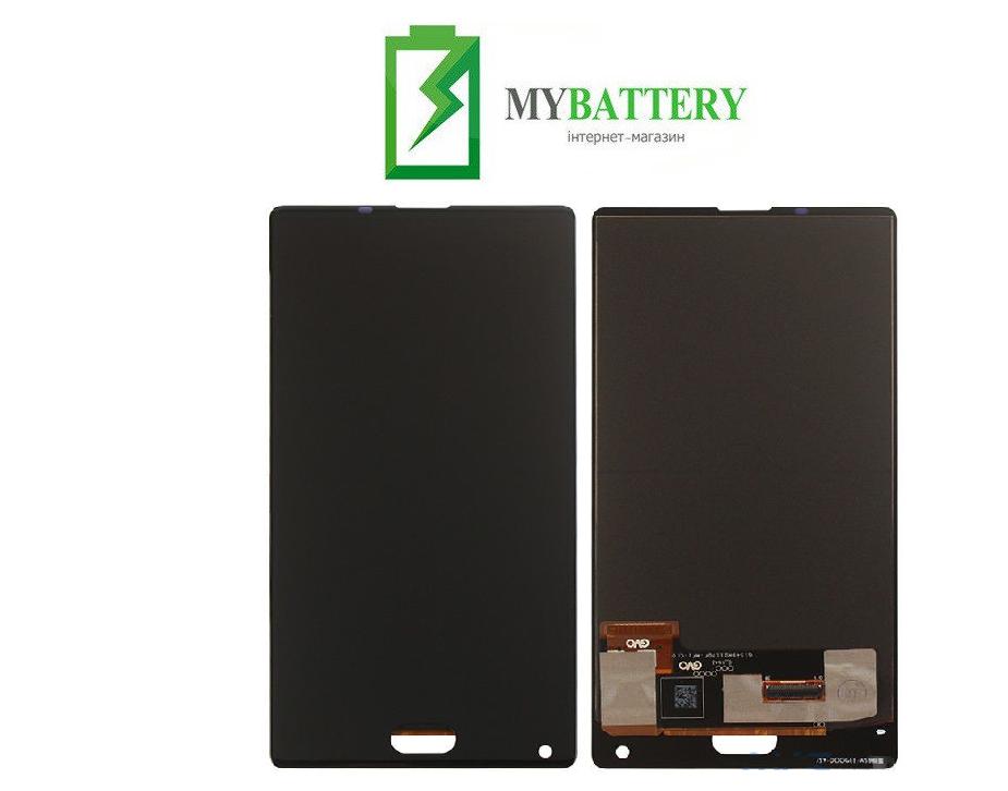 Дисплей (LCD) Doogee Mix 6 с сенсором чёрный