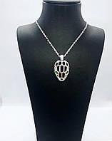 """Колье из серебра 925 в стиле Bulgari """"Ящерица"""", фото 1"""