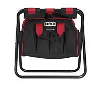 Стул складной с сумкой для инструментов YATO 42х29х30см