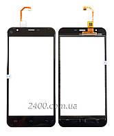 Тачскрин (сенсор) Oukitel U7 Plus телефона черный (black)