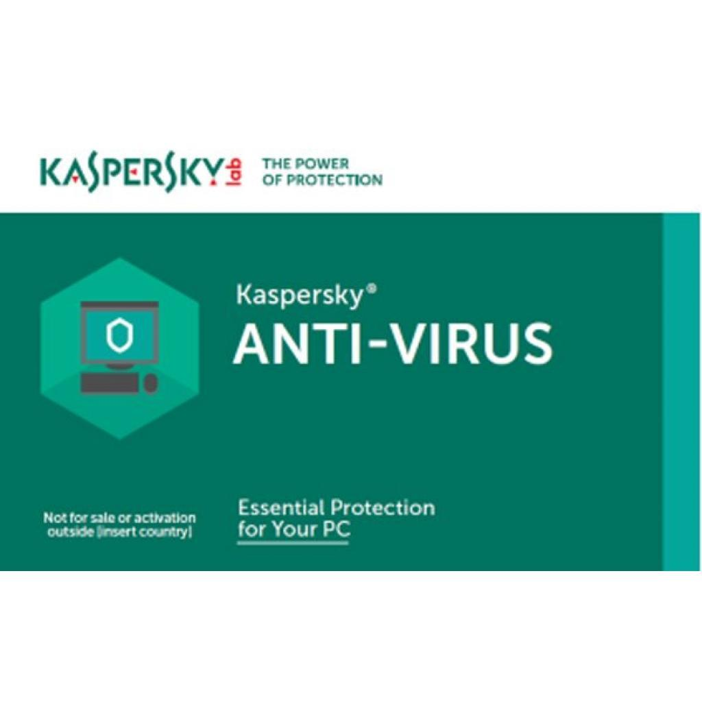 Антивирус Kaspersky Anti-Virus 2018 1 ПК 1 год Renewal Card (5060486858118)
