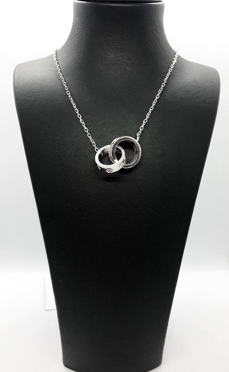 Кулон из серебра 925 Beauty Bar в стиле картье Love, фото 1