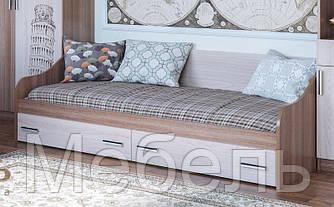 Кровать с ящиками Город  SV Мебель 2032*650*900